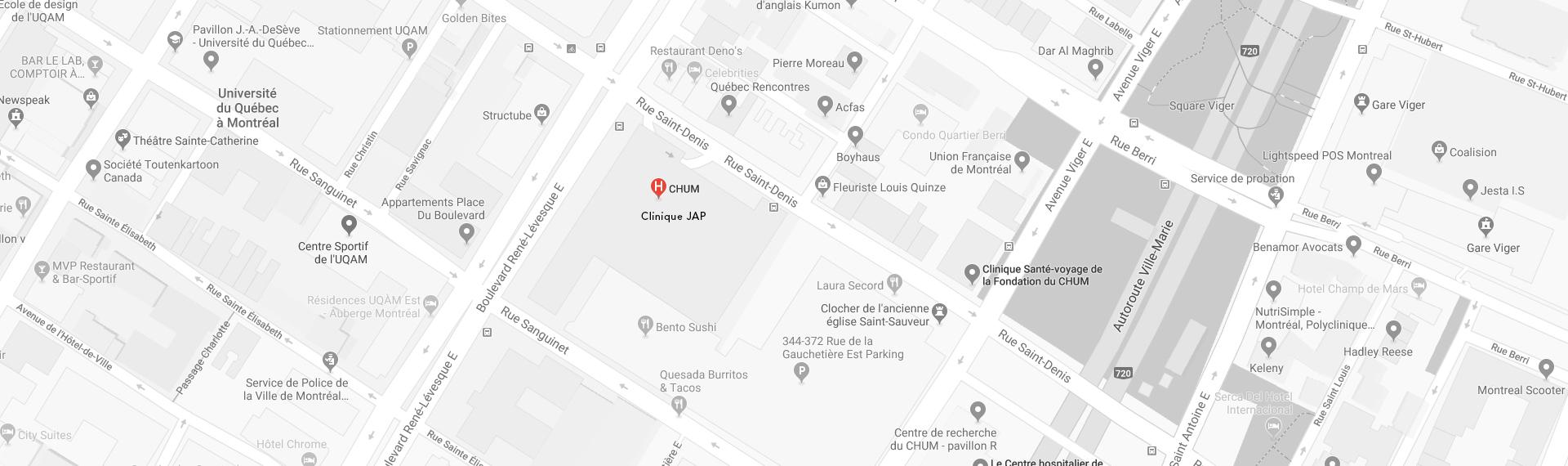 CHUM Map